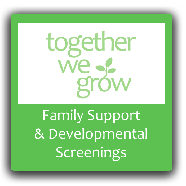 Family Support and Development Screening button