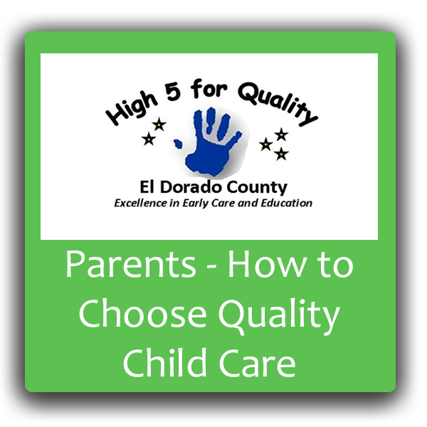 Parents - how to choose high quality child care button